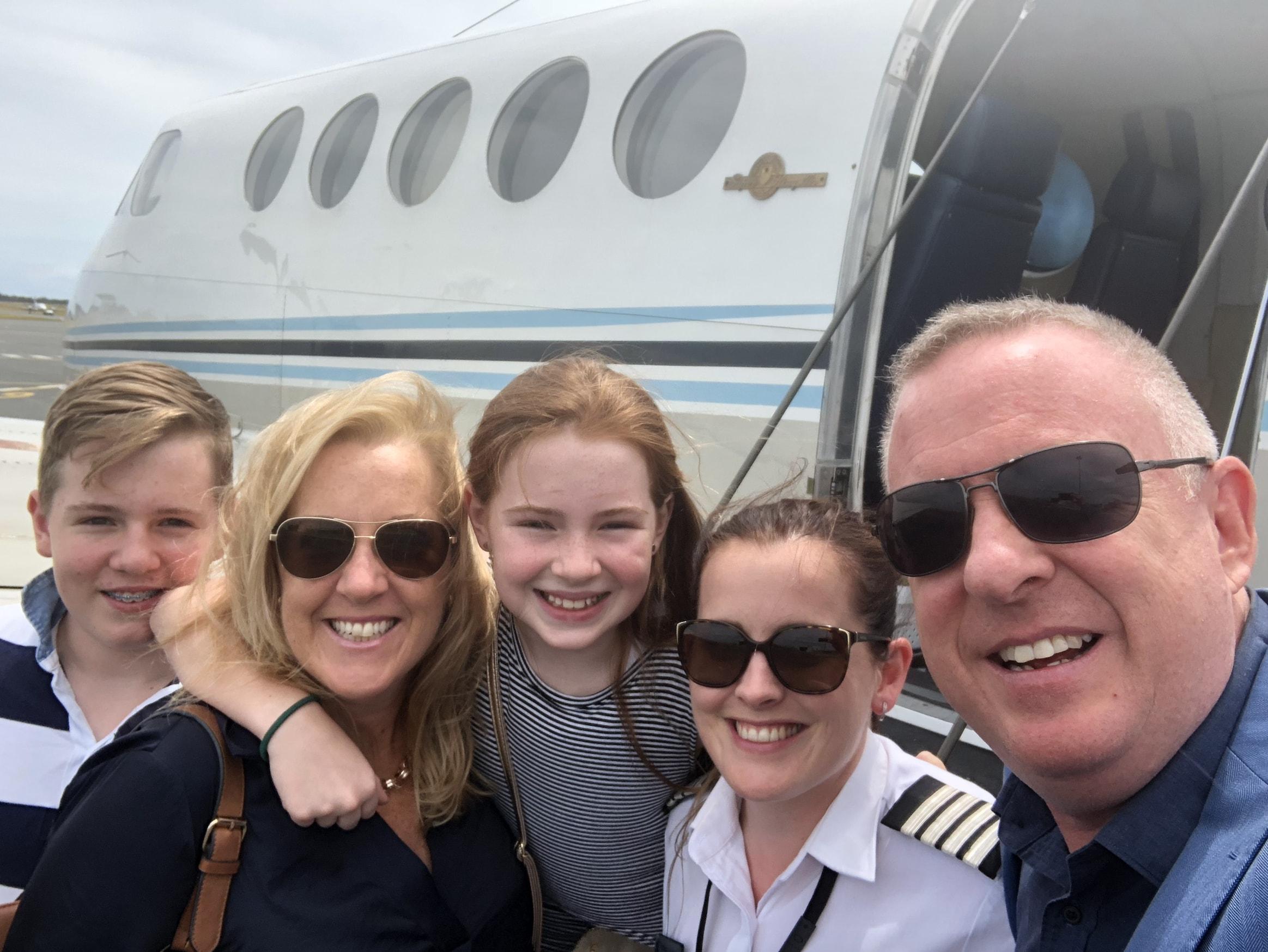 KingAir Passengers